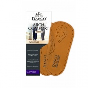 Dasco Men's Leather Arch Comfort Insoles