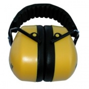 Yellow Folding Earmuff - SNR 30