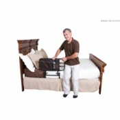 EZ Adjustable Bed Rail with Pouch
