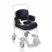 Etac Clean Comfort Shower/Toilet Chair 49 cm Grey