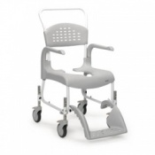 Etac Clean Height Adjustable Shower and Commode Chair