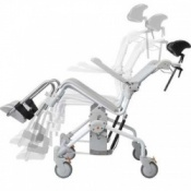 Etac Swift Mobile Tilt 160 Shower and Commode Chair