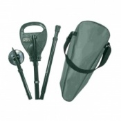 Adjustable Green Foldaway Supaseat Walking Seat Stick