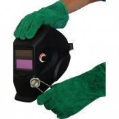 Green Standard Welder Gloves