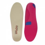 Express Orthotics Hard Density Red Full Length