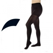 JOBST Opaque Compression Class 1 (18 -  21mmHg) Black Closed Toe Compression Tights