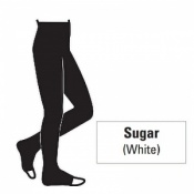 Juzo Attractive 23-32mmHg Sugar Compression Tights with Open Toe