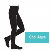 Juzo Attractive 18-21mmHg Cool Aqua Compression Tights