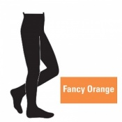 Juzo Attractive 18-21mmHg Fancy Orange Compression Tights
