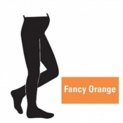 Juzo Attractive 18-21mmHg Fancy Orange Maternity Compression Tights