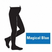 Juzo Attractive 18-21mmHg Magical Blue Maternity Compression Tights