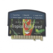 Tropical Rainforest Sound Card for the L363 Sound Oasis Tinnitus Relaxer