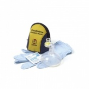 Laerdal Paediatric Pocket Mask with Gloves & Wipe
