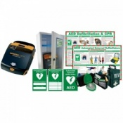 LifePak CR+ Auto Defibrillator Bundle