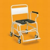 Linido Heavy Duty Mobile Shower and Toilet Chair