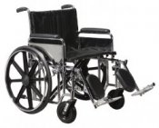 Drive Medical Sentra EC Self Propelled Wheelchair