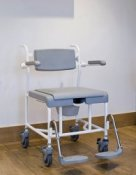 M2 Heavy Shower, Toileting Commode Chair - Chair