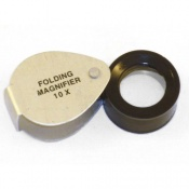Folding Magnifier 10x Magnification (Gowling)