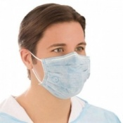 Medline Biomask Universal-C Surgical Masks (Case of 600)