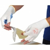 NLFPIK Low Lint Fingerless Handling Gloves