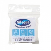Nilaqua Expandable Wipes (Pack of 4 Wipes)