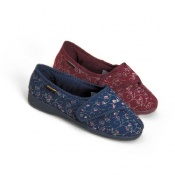 Ladies Dunlop Bluebell Slippers