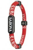 Sabona Magnetic Sports Bracelet Red