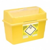 Sharpsafe 24 Litre Protected Access Sharps Disposal Unit (Pack of 10)