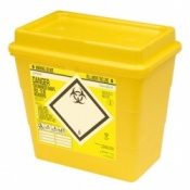 Sharpsafe 8 Litre Clinisafe Laboratory Waste Disposal Unit (Pack of 20)