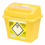 Sharpsafe 9 Litre Protected Access Sharps Disposal Unit (Pack of 20)