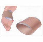 JuraGel Silicone Gel Metatarsal Pad with Elastic Band