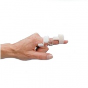 Rolyan Sof Stretch Long Coil Finger Extension Splint