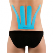 SpiderTech Lower Back Pre-Cut Kinesiology Tape (6 Pack Tin)