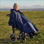 Splash Universal Wheelchair Poncho