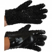Standard Chemical PVC Chipped Finish Gauntlet Gloves