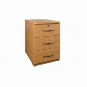 Sunflower Medical Bedside Cabinet with Three Drawers