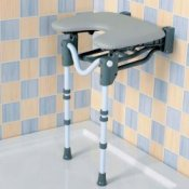 Shower Seat - Tooting Horseshoe Shower Seat