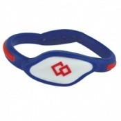 Trion Z Flex Loop Magnetic Bracelet Blue And Red