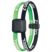 Trion Z Magnetic Sports Bracelet Dual Loop Black and Green
