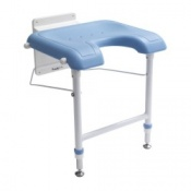 U Shape Wall Mounted Shower Seat