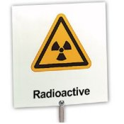 Warning Notice Radioactive