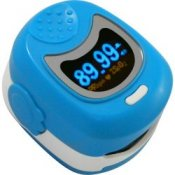 Daray V406 Paediatric Fingertip Pulse Oximeter Blue
