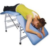 Bi-Lateral Adjustment Treatment Table - Dark Blue