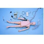 Child Acls Manikin With Interactive Arrhythmia Simulator