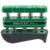Digi-Flex Hand and Finger Exercise System (Green/Medium - 2.3 - 7.3kg)