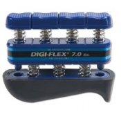 Digi-Flex Hand and Finger Exercise System (Blue/Heavy 3.2 - 10.4kg)