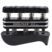 Digi-Flex Hand and Finger Exercise System (Black/Very Heavy  4.1 - 14.1kg)