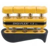 Digi-Flex Hand and Finger Exercise System (Yellow/Very Light 0.7 - 2.3kg)