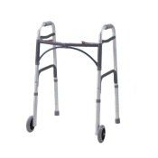 Drive Medical - Folding Walking Frame with Wheels