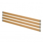Wooden Side Rails for Harvest Woburn Community Profiling Beds (Set of Four)